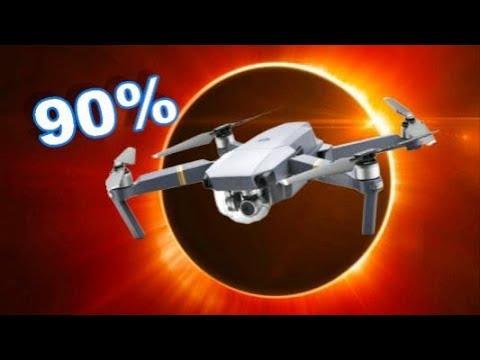 90% Total Solar Eclipse 2017 from a DJI Mavic Pro Drone - TheRcSaylors - UCpDJl2EmP7Oh90Vylx0dZtA