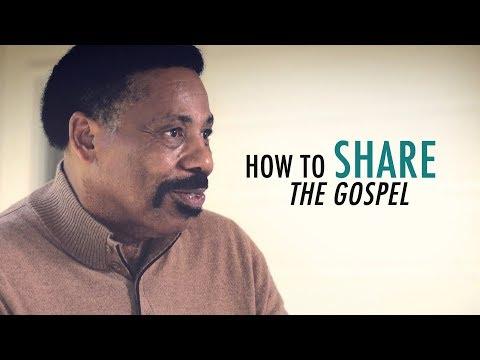 Tony Evans Explains How to Share the Gospel