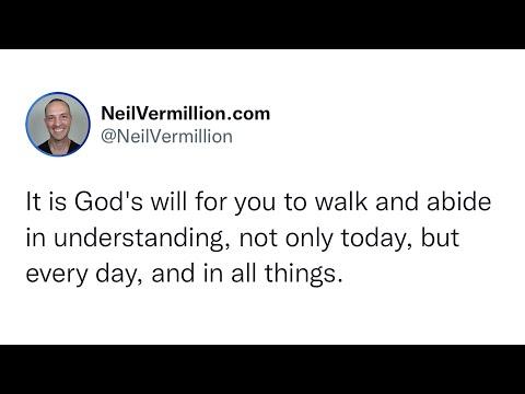 The Light Of My Understanding - Daily Prophetic Word