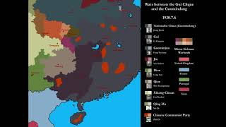 [Warlord China] Guangxi-Kuomintang Wars: Every Day