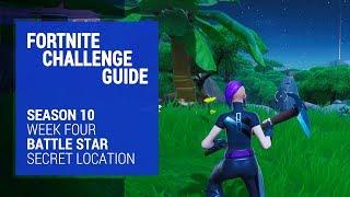 Fortnite Season 10 Battle Star Location - Week Four