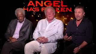 Angel Has Fallen Morgan Freeman, Nick Nolte, Ric Roman Waugh  Generic Interview ||  #SocailNews.XYZ