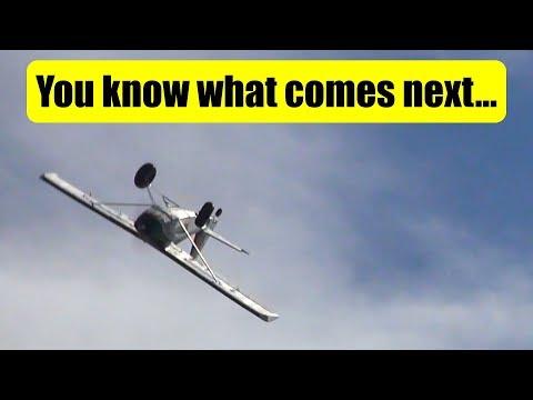 Wind + RC plane + old men = TROUBLE! - UCQ2sg7vS7JkxKwtZuFZzn-g