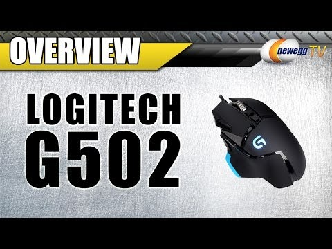 LOGITECH G502 Proteus Core Tunable Gaming Mouse Overview - Newegg TV - UCJ1rSlahM7TYWGxEscL0g7Q