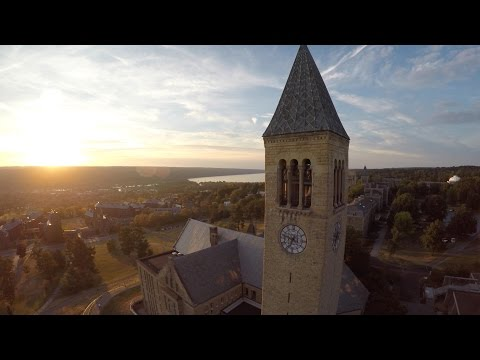 3DR Solo Drone GoPro HERO4 Sample Footage with Gimbal (Ithaca is GORGES)