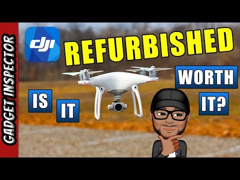 Are Refurbished DJI Drones Worth it? | Refurbished DJI Phantom 4 - UCMFvn0Rcm5H7B2SGnt5biQw