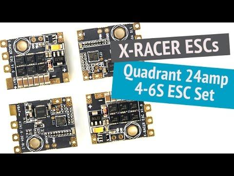 X-RACER Quadrant 25A 4-6S 4 in 1 ESCs - UCOT48Yf56XBpT5WitpnFVrQ