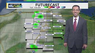 Monday Night Forecast Update
