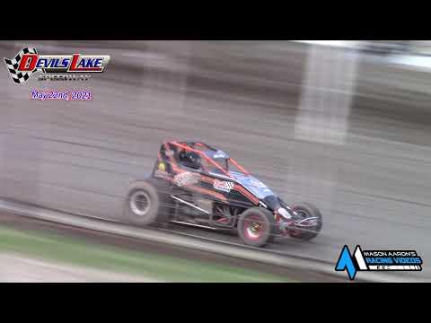 Devils Lake Speedway Trophy Races (5/22/21) - dirt track racing video image