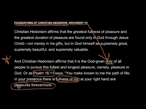 Foundations of Christian Hedonism // Part 6 // Is Joy Essential to Saving Faith?