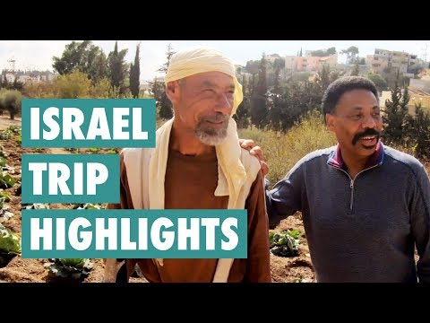 Tony Evans' Trip to Israel (Highlights)