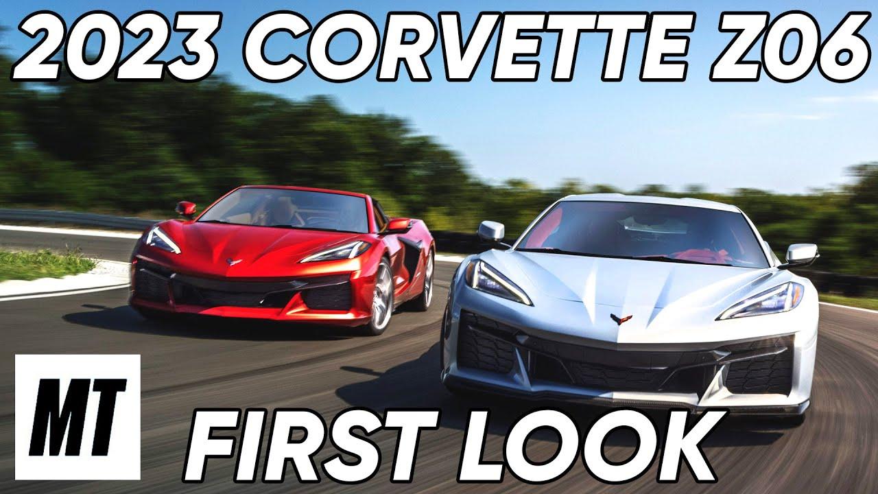 2023 Corvette Z06: First Look | MotorTrend