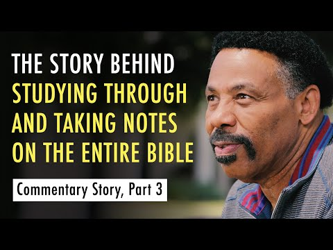 Conversations on the Commentary, Part Three (Dr. Tony Evans)