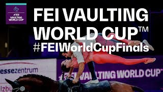 Vaulting showdown in Saumur! - FEI Vaulting World Cup™ Final