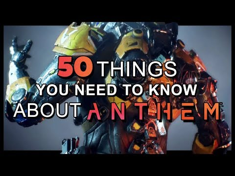 Anthem - 50 things you need to know before you get hyped or write it off - UCCNNFzGEsMS7RIVsH2Pov3g