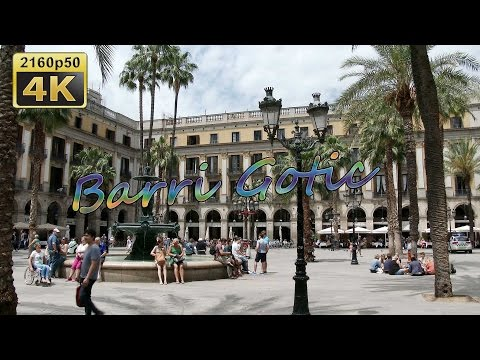 Barcelona, Barri Gotic and Back to Germany - Spain 4K Travel Channel - UCqv3b5EIRz-ZqBzUeEH7BKQ