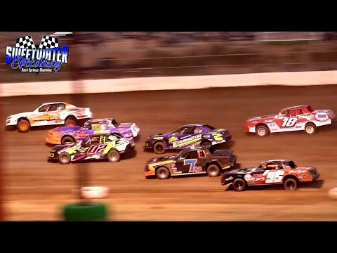 Sweetwater Speedway IMCA Stock Car Main Event 7/2/21 - dirt track racing video image