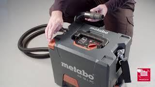 Akuga tolmuimeja Metabo AS 18 L PressClean - ilma aku ja laadijata