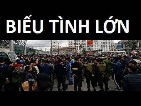 Biểu tình lớn chống thu phí tại trạm BOT Biên Cương, Cẩm Phả