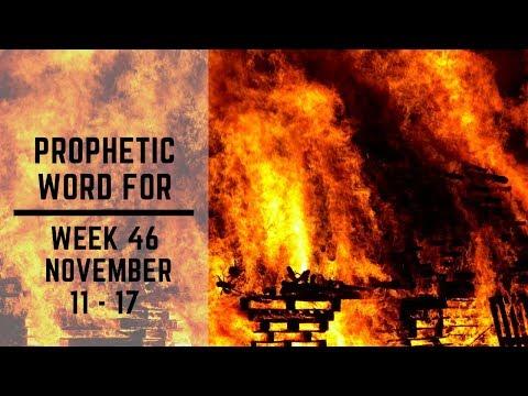 Prophetic Word for This week 11 November 2019