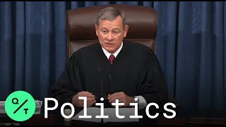 John Roberts Declares Trump Acquitted, Gavels Out Impeachment Trial