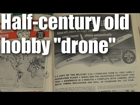 "50 year old foamie model airplane ""drone"" - UCQ2sg7vS7JkxKwtZuFZzn-g"