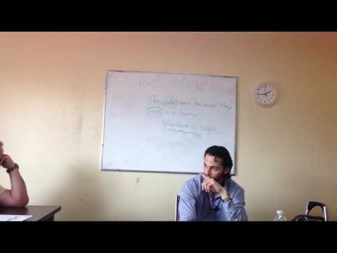 OTP English Lesson - Richard - Study Phase - Worksheet Discussion