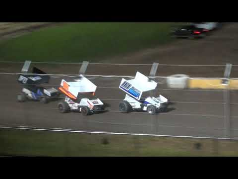 Midwest Power Series B-Feature - Cedar Lake Speedway 09/11/2021 - dirt track racing video image