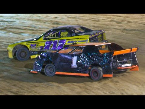 Open Mini Stock Feature | Bradford Speedway | 9-20-20 - dirt track racing video image