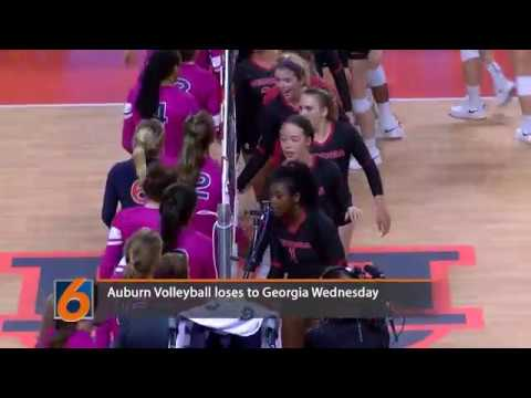 Auburn University Volleyball hosted Georgia on October 3rd. Georgia won the match in the 5th set.