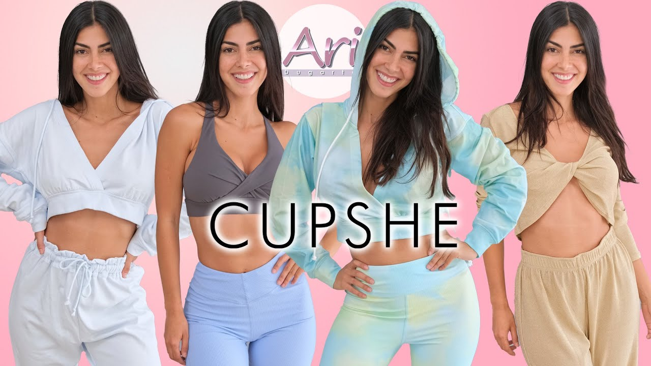 CUPSHE Athleisure Wear Try On Haul
