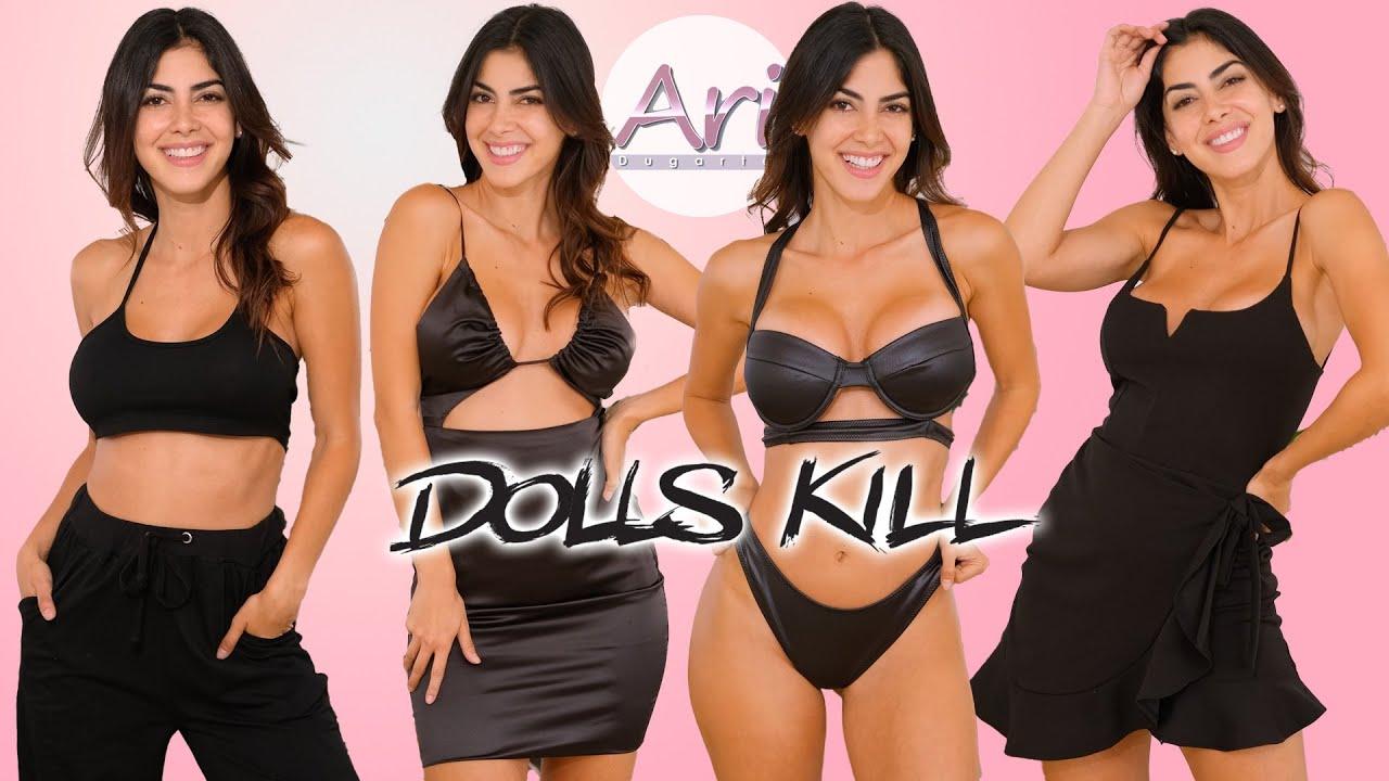 DOLLS KILL ¨All Black¨ Try On Haul