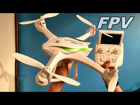Cheerson CX-35 Phantom Review and Flight FPV Drone - TheRcSaylors - UCYWhRC3xtD_acDIZdr53huA
