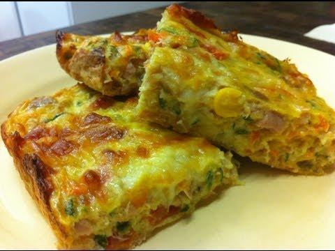 Receta: Delicioso Pastel de Verduras - La Cocinadera - UCrd8u43HfXHNQJCTsPCSlKw