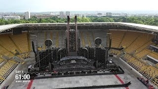 Europe Stadium Tour (Time Lapse)