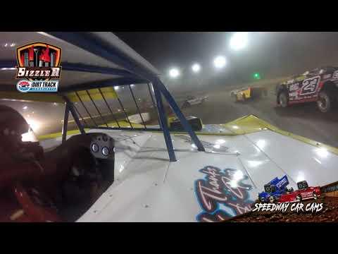 #99 Shan Oreo Thomas - Topless Late Model - Carolina Sizzler 7-17-21 - In-Car Camera - dirt track racing video image