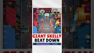 These Giant Skelly plays are incredible - Clash Royale Epic and Funny Moments