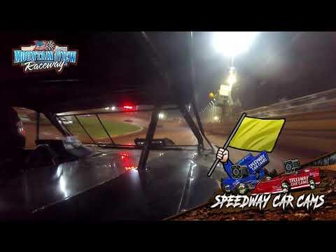 #104 Chris Williams - Thunder - 9-11-21 Mountain View Raceway - In-Car Camera - dirt track racing video image