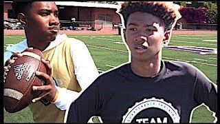 🔥🔥 Incoming Freshman QB | Javance Tupouata-Johnson '23 | Alamany (CA) Straight Baller Camp Spotlight