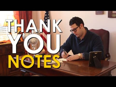 How to Write a Thank You Note | The Art of Manliness - UC2kTZB_yeYgdAg4wP2tEryA