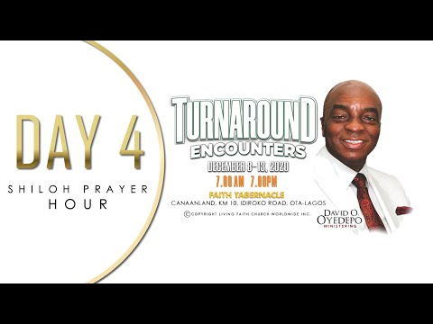DOMI STREAM: SHILOH 2020  DAY 4  TURNAROUND ENCOUNTERS  SHILOH PRAYER HOUR