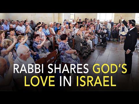 Rabbi Ministers to Holocaust Survivors