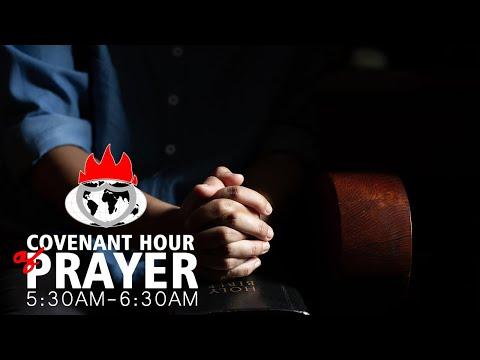 DOMI STREAM: COVENANT HOUR OF PRAYER  30, OCTOBER 2020