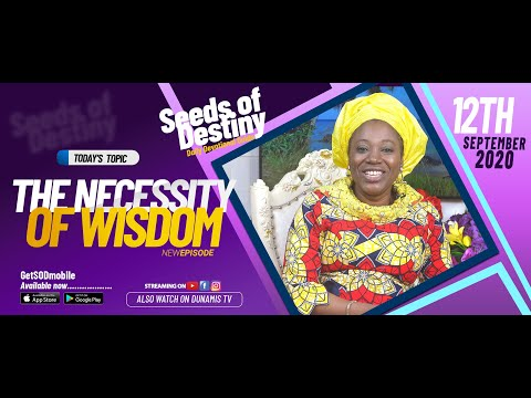 Dr Becky Paul-Enenche - SEEDS OF DESTINY - SATURDAY SEPTEMBER 12, 2020