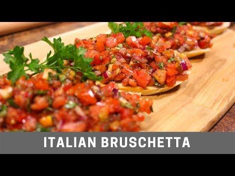 Italian Bruschetta Easy Recipe
