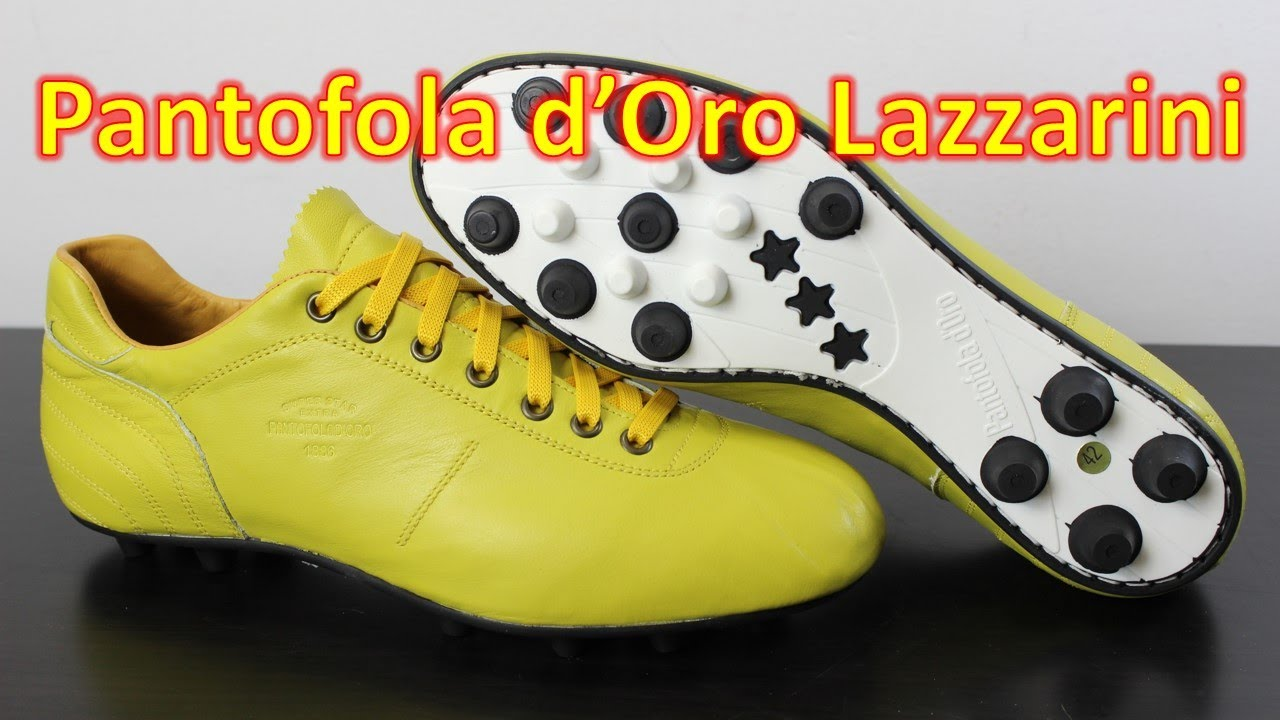 281e2f90fdf6 Pantofola d Oro Lazzarini Yellow - Unboxing + On Feet