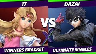 Smash Ultimate Tournament - 17 (Zelda) Vs. BG   Dazai (Joker) S@X 316 SSBU Winners Round 4