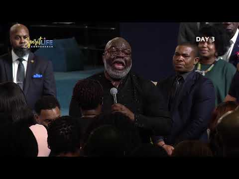 #SLC2019  Bishop T D Jakes  Sitting At The King's Table