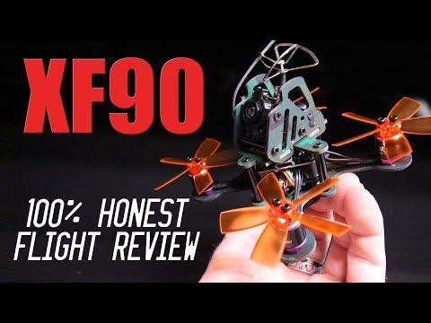 XF90 90mm Micro Brushless FPV Racing Drone - 100% HONEST FLIGHT REVIEW - UCwojJxGQ0SNeVV09mKlnonA