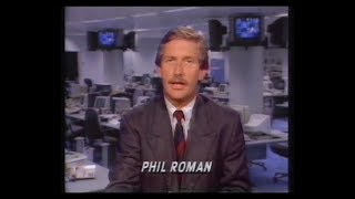 Central | Continuity | Adverts | ITN News Summary | 1991